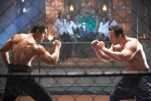 11nov johnrace2 1 John Abraham fights professional South African fighter for Race 2 despite injury