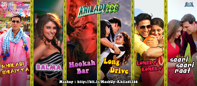 11nov khiladimash Khiladi 786 Mashup to burn the dance floor!!