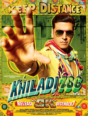 11nov khiladimusic 01 Khiladi 786 Music Review