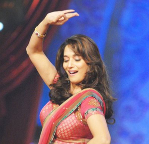11nov madhuri Madhuris dance is fire and lightning together   Prabhu Deva
