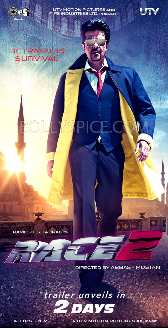 11nov race2anilkapoor1 Anil Kapoor in Race 2