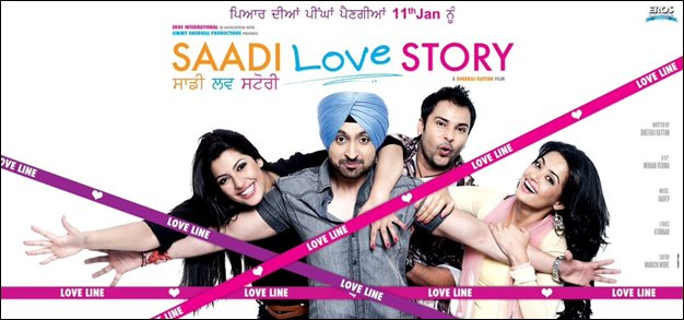 11nov saadilovestory Jimmy Shergill Productions & Eros International launch the trailer of Saadi Love Story