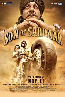 11nov sosreview Son of Sardaar Movie Review