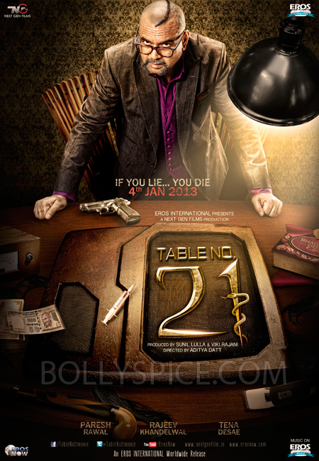 11nov tableno211 Eros International releases First Look Teaser Poster of Table No. 21