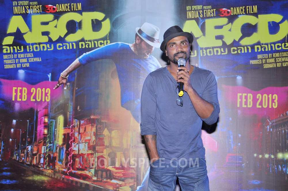 12nov ABCDtrailerlaunch02 IN PHOTOS AND VIDEO: ABCD (Any Body Can Dance) Trailer Launch with Prabhudeva and Remo showing their moves!