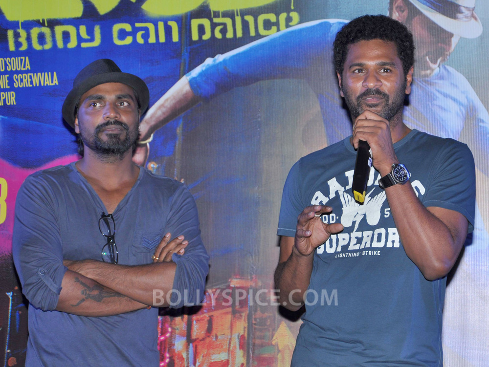 12nov ABCDtrailerlaunch03 IN PHOTOS AND VIDEO: ABCD (Any Body Can Dance) Trailer Launch with Prabhudeva and Remo showing their moves!