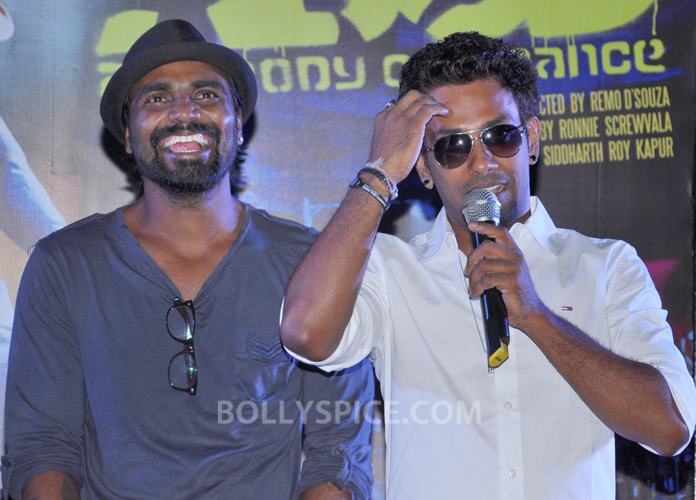 12nov ABCDtrailerlaunch08 IN PHOTOS AND VIDEO: ABCD (Any Body Can Dance) Trailer Launch with Prabhudeva and Remo showing their moves!