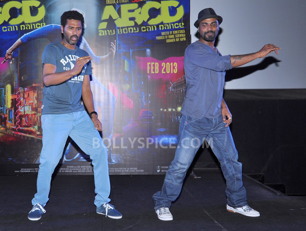 12nov ABCDtrailerlaunch11 IN PHOTOS AND VIDEO: ABCD (Any Body Can Dance) Trailer Launch with Prabhudeva and Remo showing their moves!