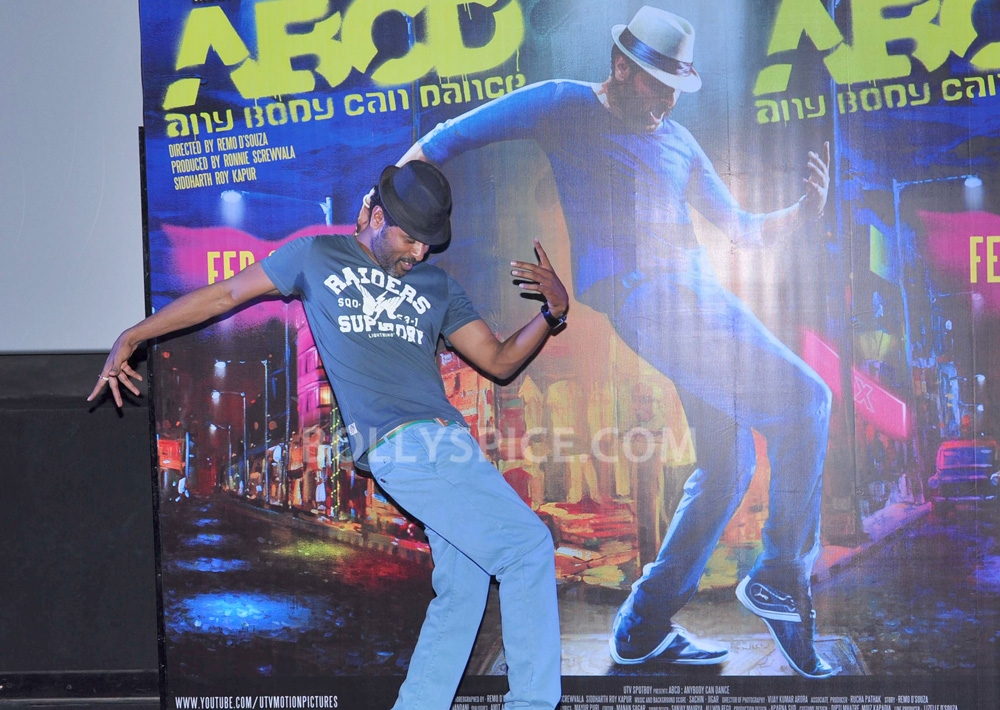 12nov ABCDtrailerlaunch13 IN PHOTOS AND VIDEO: ABCD (Any Body Can Dance) Trailer Launch with Prabhudeva and Remo showing their moves!