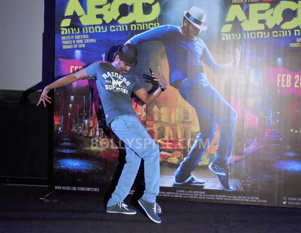 12nov ABCDtrailerlaunch15 IN PHOTOS AND VIDEO: ABCD (Any Body Can Dance) Trailer Launch with Prabhudeva and Remo showing their moves!