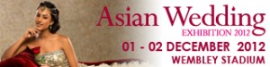 12nov AWE Wembley 300x75 Wembley Stadium to host the UK's largest Asian Wedding Exhibition