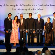 12nov Aishwarya Abhishek Aaradhya Amitabh FrenchGovtAward01 185x185 IN PHOTOS: Aishwarya Rai Bachchan receives award from the French government plus cutie Aaradhya