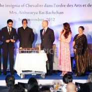 12nov Aishwarya Abhishek Aaradhya Amitabh FrenchGovtAward14 185x185 IN PHOTOS: Aishwarya Rai Bachchan receives award from the French government plus cutie Aaradhya