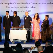 12nov Aishwarya Abhishek Aaradhya Amitabh FrenchGovtAward16 185x185 IN PHOTOS: Aishwarya Rai Bachchan receives award from the French government plus cutie Aaradhya