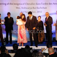 12nov Aishwarya Abhishek Aaradhya Amitabh FrenchGovtAward20 185x185 IN PHOTOS: Aishwarya Rai Bachchan receives award from the French government plus cutie Aaradhya