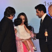 12nov Aishwarya Abhishek Aaradhya Amitabh FrenchGovtAward30 185x185 IN PHOTOS: Aishwarya Rai Bachchan receives award from the French government plus cutie Aaradhya