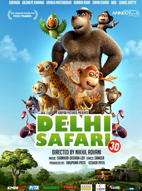 Delhi Safari (2012) REPACK 1080p BluRay ENG x264-NOSCREENS *dla   EXSite.pl*