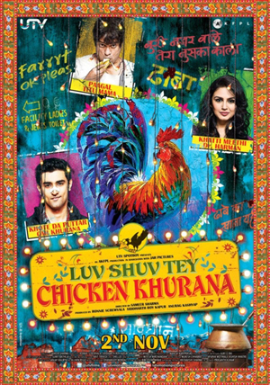 Luv Shuv Tey Chicken Khurana Movie Review