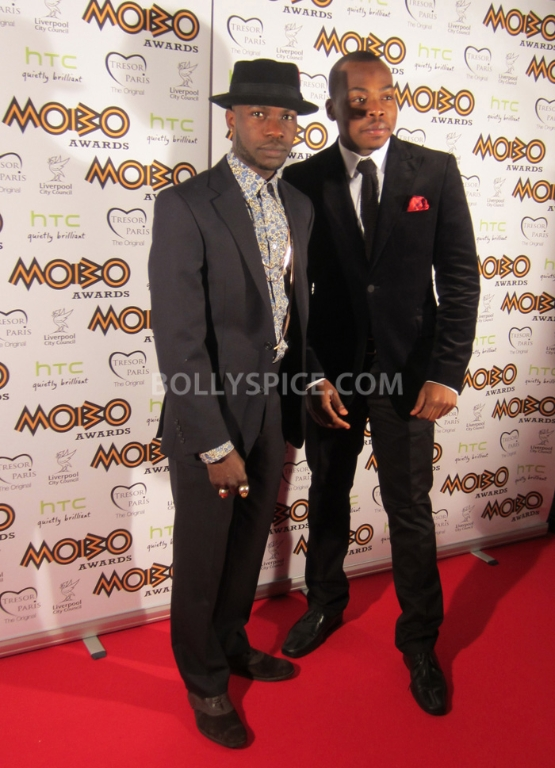 12nov MOBOAwards09 BollySpice attends the MOBO Awards 2012