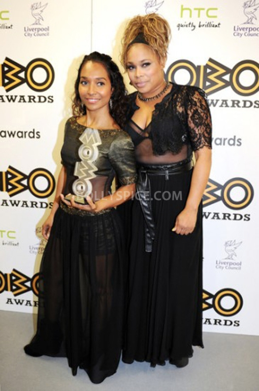 12nov MOBOAwards16 BollySpice attends the MOBO Awards 2012