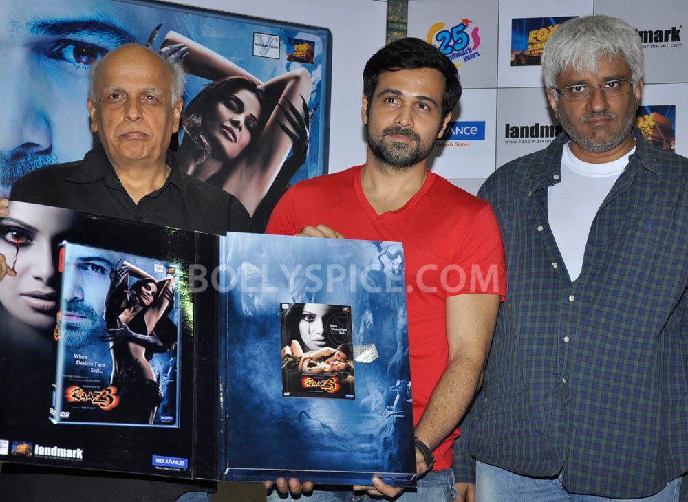 12nov Raaz3DVDrelease08 Raaz 3 reveals it secrets on 3D Blu ray™, 3D & 2D DVD & VCD
