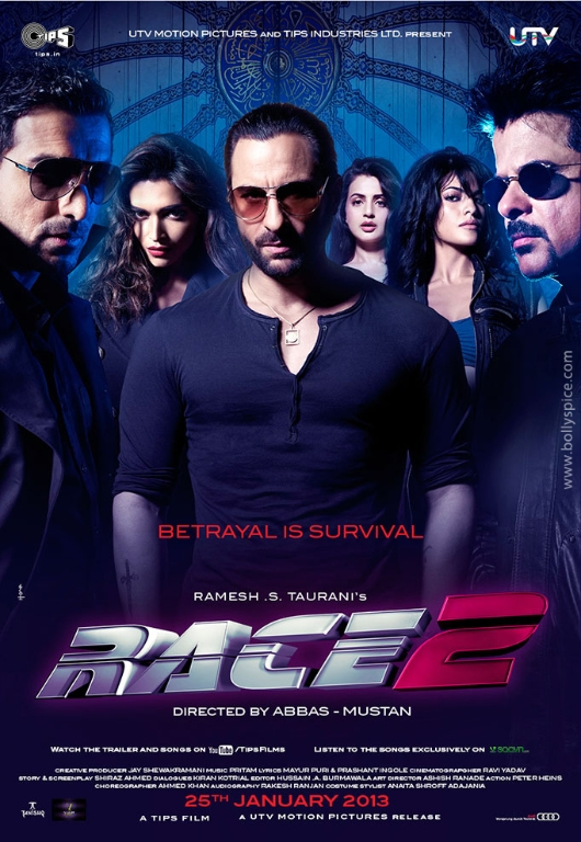 12nov Race2posterALL Race 2 trailer released!