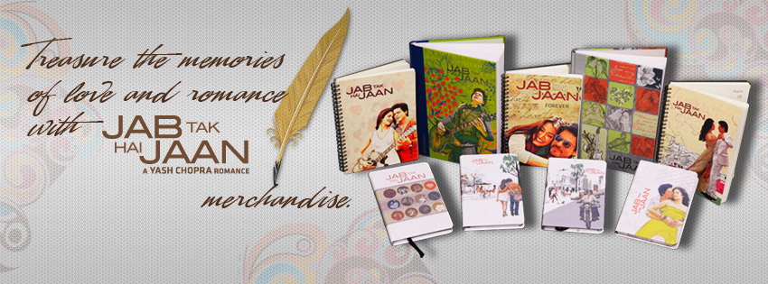 12nov YRF JTHJ Diaries merchandise YRF Merchandise launches Jab Tak Hai Jaan Diaries