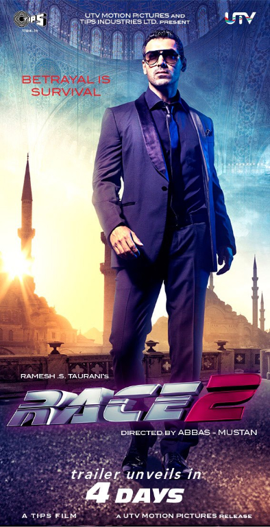 John Abraham Race 2 Check out John Abraham in Race 2!
