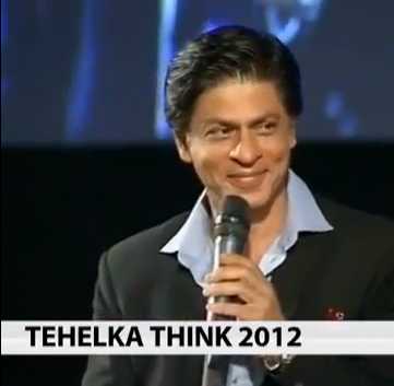SRK thinkfest Shah Rukh Khans Emotional Heartfelt Talk at ThinkFest