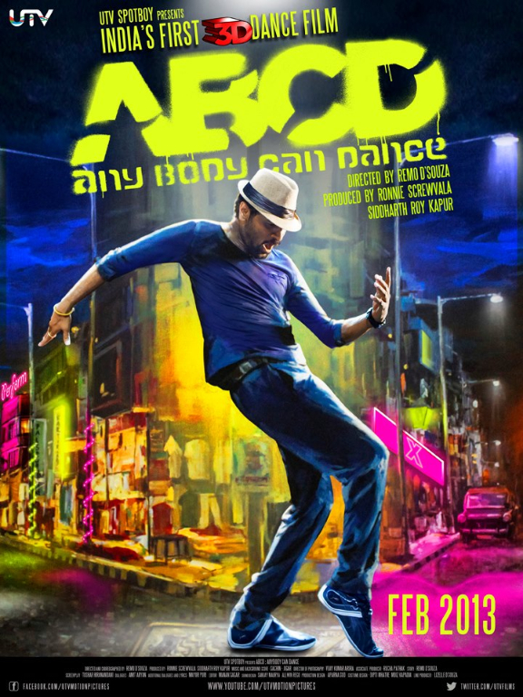 abcdposter01 First Look: Prabhudeva in ABCD (Any Body Can Dance!) Trailer!