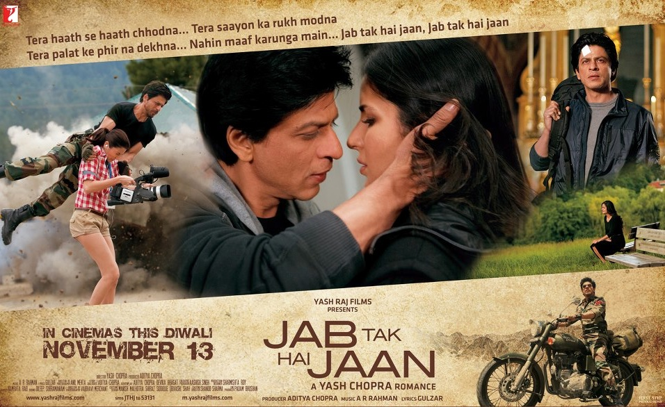 jthjreview02 Jab Tak Hai Jaan Movie Review