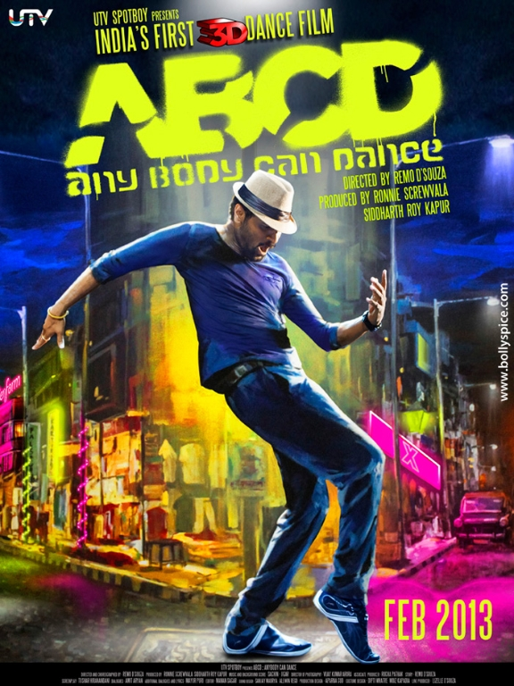 12dec ABCDposterPrabhu ABCD: Any Body Can Dance Synopsis