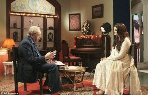 12dec DavidFrost AishwaryaRB01 300x193 Aishwarya Rai Bachchan opens up about her on screen kiss, her weight gain and whether she will return to films in an interview with Sir David Frost