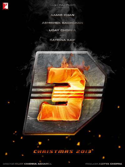 12dec Dhoom3LogoRevealed Dhoom:3 Logo Revealed!