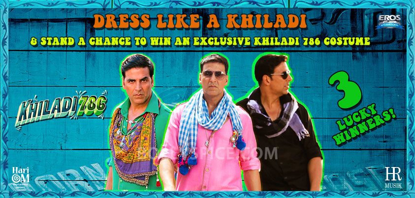 12dec Dress Like A Khiladi Khiladi 786 launch Dress like a Khiladi contest