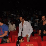 12dec KaiPoChe TrailerLaunch02 185x185 In Pictures: Hrithik, Arjun & Sohail unveil trailer for Abhishek Kapoors Kai Po Che!