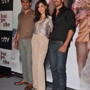 12dec KaiPoChe TrailerLaunch12 185x185 In Pictures: Hrithik, Arjun & Sohail unveil trailer for Abhishek Kapoors Kai Po Che!