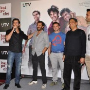 12dec KaiPoChe TrailerLaunch14 185x185 In Pictures: Hrithik, Arjun & Sohail unveil trailer for Abhishek Kapoors Kai Po Che!