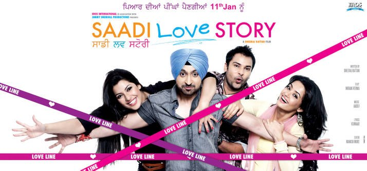 12dec SaadiLoveStoryPoster Jimmy Shergill's Saadi Love Story being promoted by Bollywood celebs