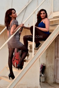 12dec SisterAct04 200x300 Shweta and Shraddha Pandit: Finally we come together on our album Sister Act