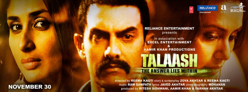 12dec Talaash JhaReview You've never quite seen or experienced a film like Talaash   Subhash K Jha reviews Talaash