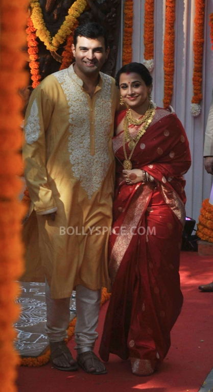 12dec Vidya Siddharth Wedding02 IN PHOTOS: Vidya Balan gets hitched!