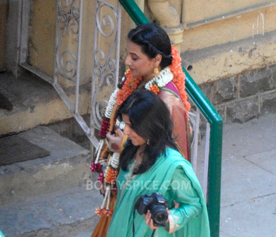 12dec Vidya Siddharth Wedding08 IN PHOTOS: Vidya Balan gets hitched!