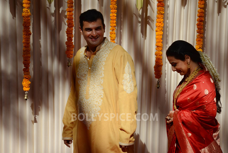 12dec Vidya Siddharth Wedding12 IN PHOTOS: Vidya Balan gets hitched!
