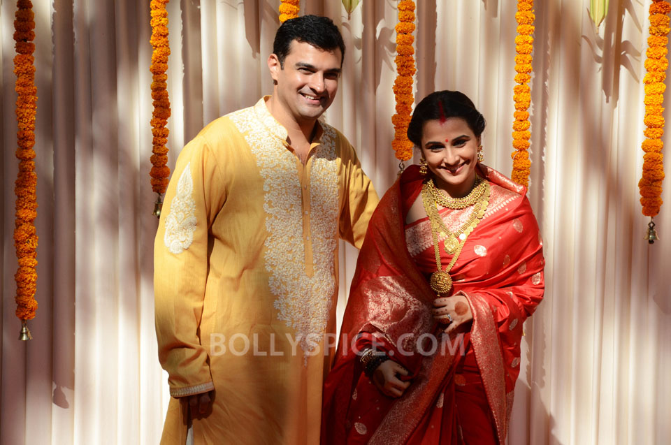 12dec Vidya Siddharth Wedding14 IN PHOTOS: Vidya Balan gets hitched!