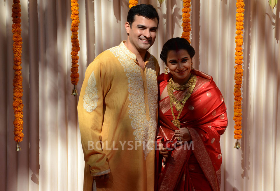 12dec Vidya Siddharth Wedding15 IN PHOTOS: Vidya Balan gets hitched!