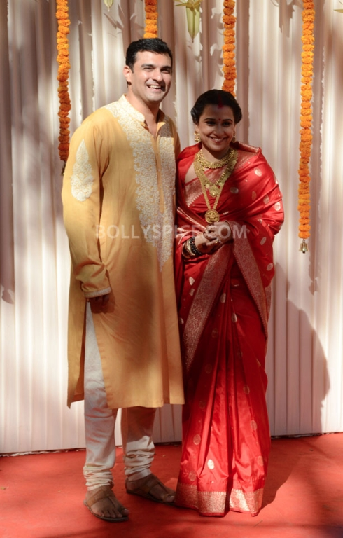 12dec Vidya Siddharth Wedding16 IN PHOTOS: Vidya Balan gets hitched!
