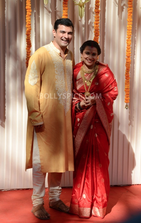 12dec Vidya Siddharth Wedding17 IN PHOTOS: Vidya Balan gets hitched!