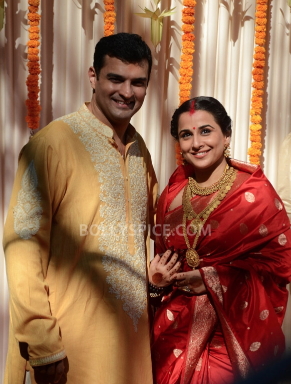 12dec Vidya Siddharth Wedding18 IN PHOTOS: Vidya Balan gets hitched!