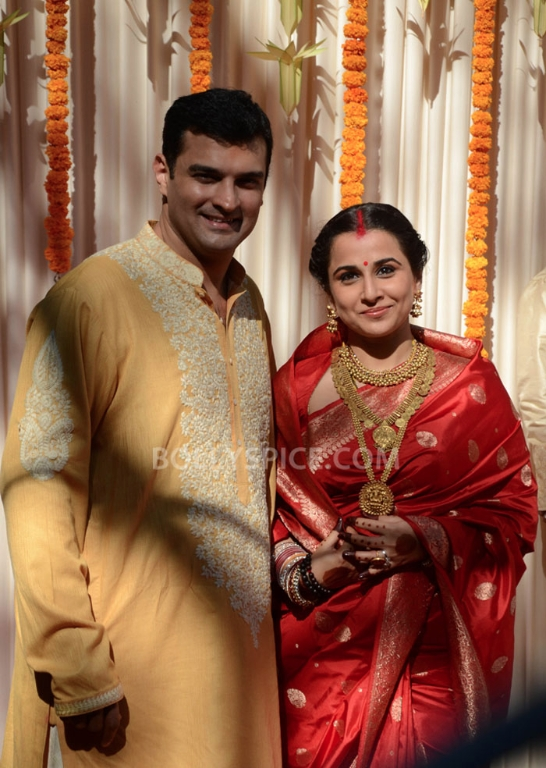 12dec Vidya Siddharth Wedding19 IN PHOTOS: Vidya Balan gets hitched!